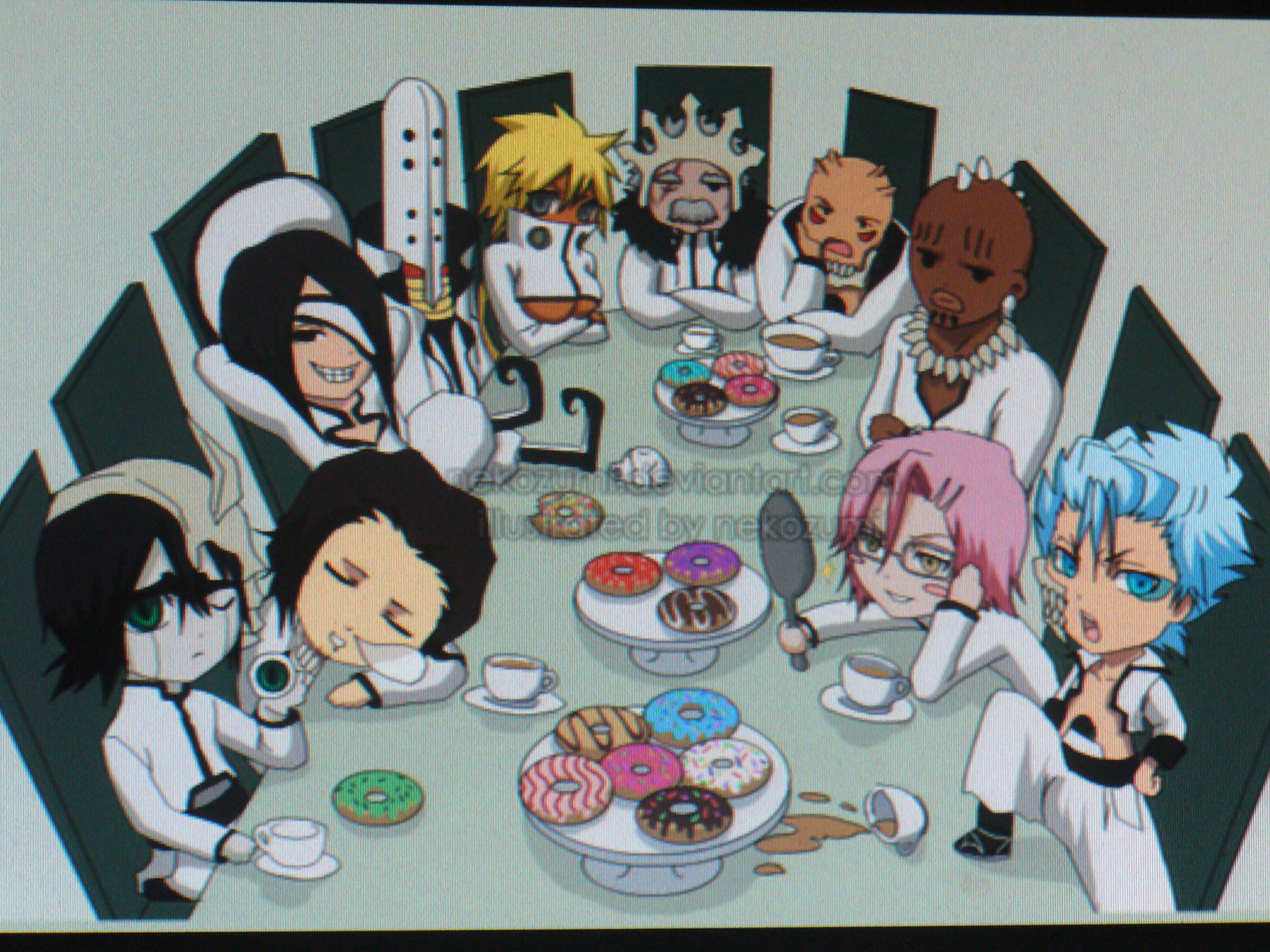 The Espada Of Bleach Images Meeting HD Wallpaper And Background Photos