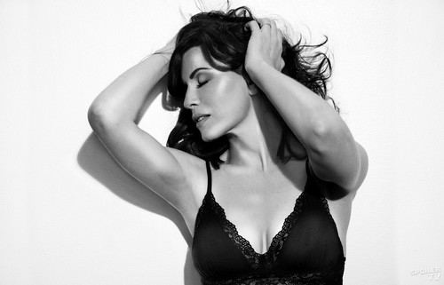 The Good Wife wallpaper probably containing attractiveness, a lingerie, and a bikini called The Good Wife Alicia Florrick