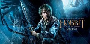 The Hobbit: The Desolation of Smaug Banner - Bilbo Baggins