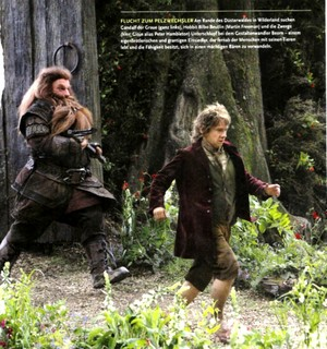 Desolation of Smaug article in CINEMA Magazine – December Issue