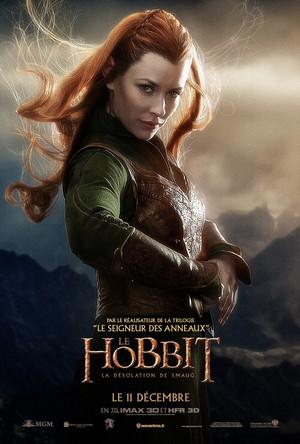 Le Hobbit: La Désolation de Smaug Affiche - Tauriel
