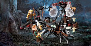 LEGO - Attack of the Mirkwood Spiders