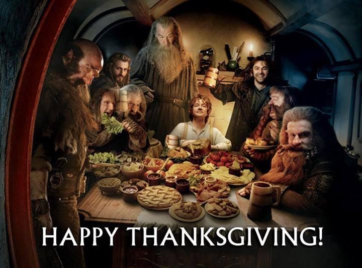 Happy Hobbit THANKSGIVING!!!!
