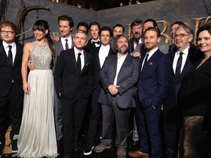 The Hobbit: The Desolation of Smaug - Peter Jackson and the Cast
