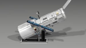 LEGO HUBBLE luar angkasa TELESCOPE