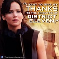 Thanks to the tributes of district eleven - the-hunger-games photo