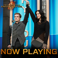 Escape the shopping madness with Katniss  - the-hunger-games photo