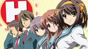 The Melancholy of Haruhi Suzumiya wallpaper with anime called the best anime!