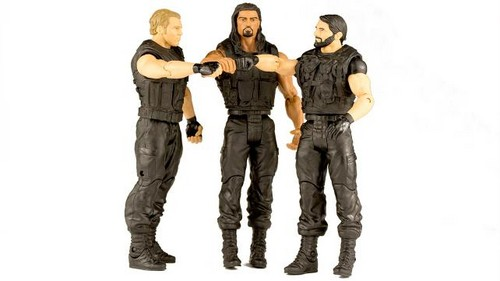 The Shield (WWE) wallpaper containing a green beret, a well dressed person, and battle dress called The Shield Wrestling Figures