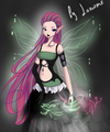 Roxy ~ Dark Elfix - the-winx-club fan art