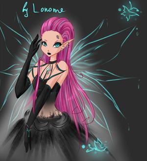 Tecna ~ Dark Elfix