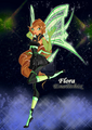 Flora Enelithix. - the-winx-club fan art