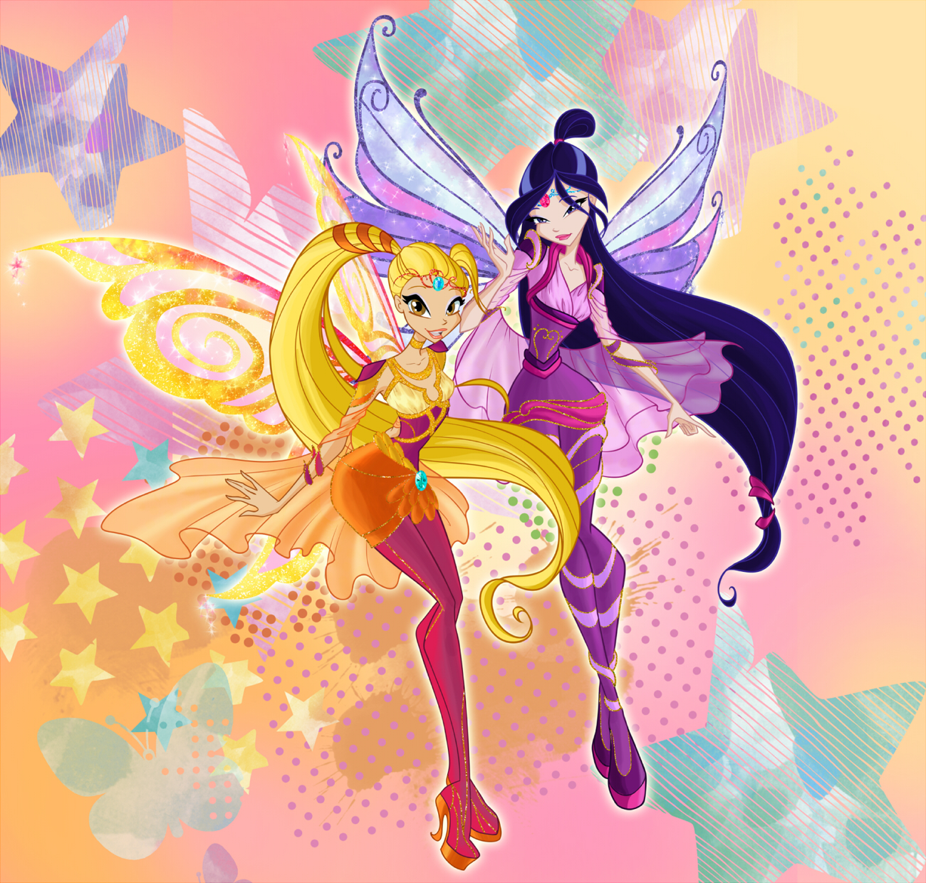 Winx club season 6 Bloomix \ Винкс 6 сезон Блумикс