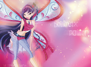 Winx club Musa believix 壁紙