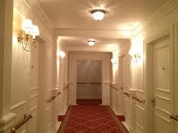 first class corridor c deck