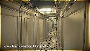 টাইটানিক b deck tiled corridor