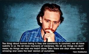 Tom Hiddleston 语录