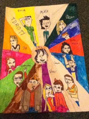 Total drama revenge of the island: The contestants