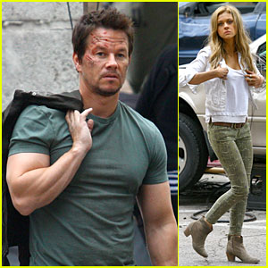 Transformers: Age of Extinction - On Set