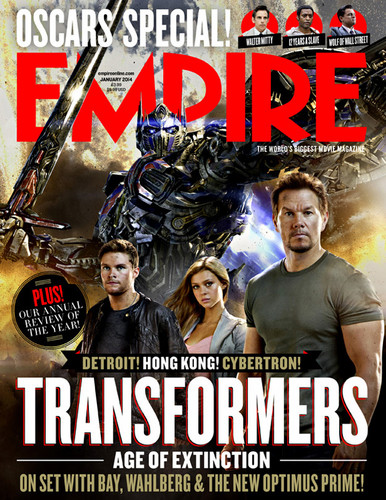 Transformers karatasi la kupamba ukuta containing anime called First Look at OPTIMUS PRIME in Transformers: Age of Extinction - Empire Magazine