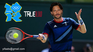 True Blood Londres olympic 2012 - Alcide Herveaux