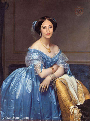 True Blood - Classic paintings -Luna Garza