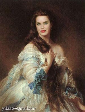 True Blood - Classic paintings - Pam De Beaufort