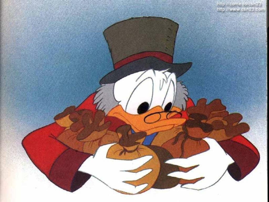 Uncle Scrooge Christmas Carol.Mickey S Christmas Carol Uncle Scrooge Mcduck Photo