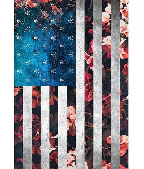 Grunge , Flag