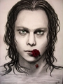 amazing Ville Valo portrait - ville-valo fan art