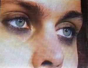 Ville's eyes