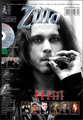 Ville Valo 壁纸 possibly with a sign titled Ville on the cover of...