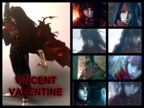 Vincent Valentine वॉलपेपर possibly with a stained glass window and ऐनीमे titled Vincent Valentine
