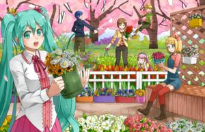 Vocaloid Gardening