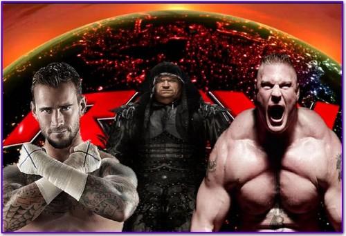 WWE wallpaper titled raw match ------
