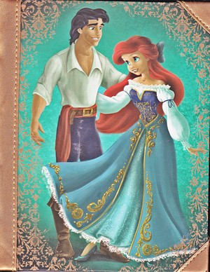डिज़्नी Fairytales Designer Collection - Prince Eric & Princess Ariel