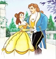 Walt Disney Book Images - Princess Belle & Prince Adam - walt-disney-characters photo