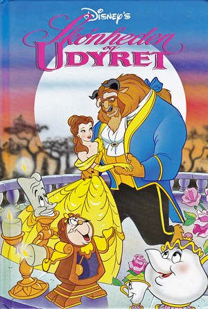 Walt Disney Book Covers - Beauty and the Beast