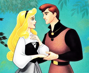 Walt Disney Book imej - Princess Aurora & Prince Phillip