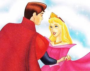 Walt Disney Book picha - Prince Phillip & Princess Aurora