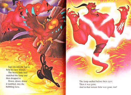 Walt Disney-Figuren Hintergrund entitled Walt Disney Bücher - Aladin 2: The Return of Jafar