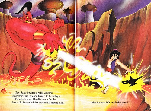 Walt Disney Characters wallpaper called Walt Disney Books - Aladdin 2: The Return of Jafar