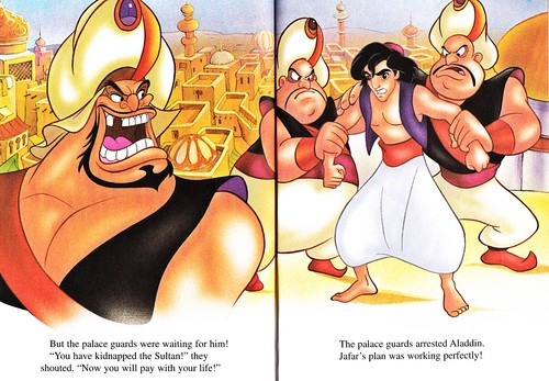 karakter walt disney wallpaper entitled Walt disney buku - aladdin 2: The Return of Jafar