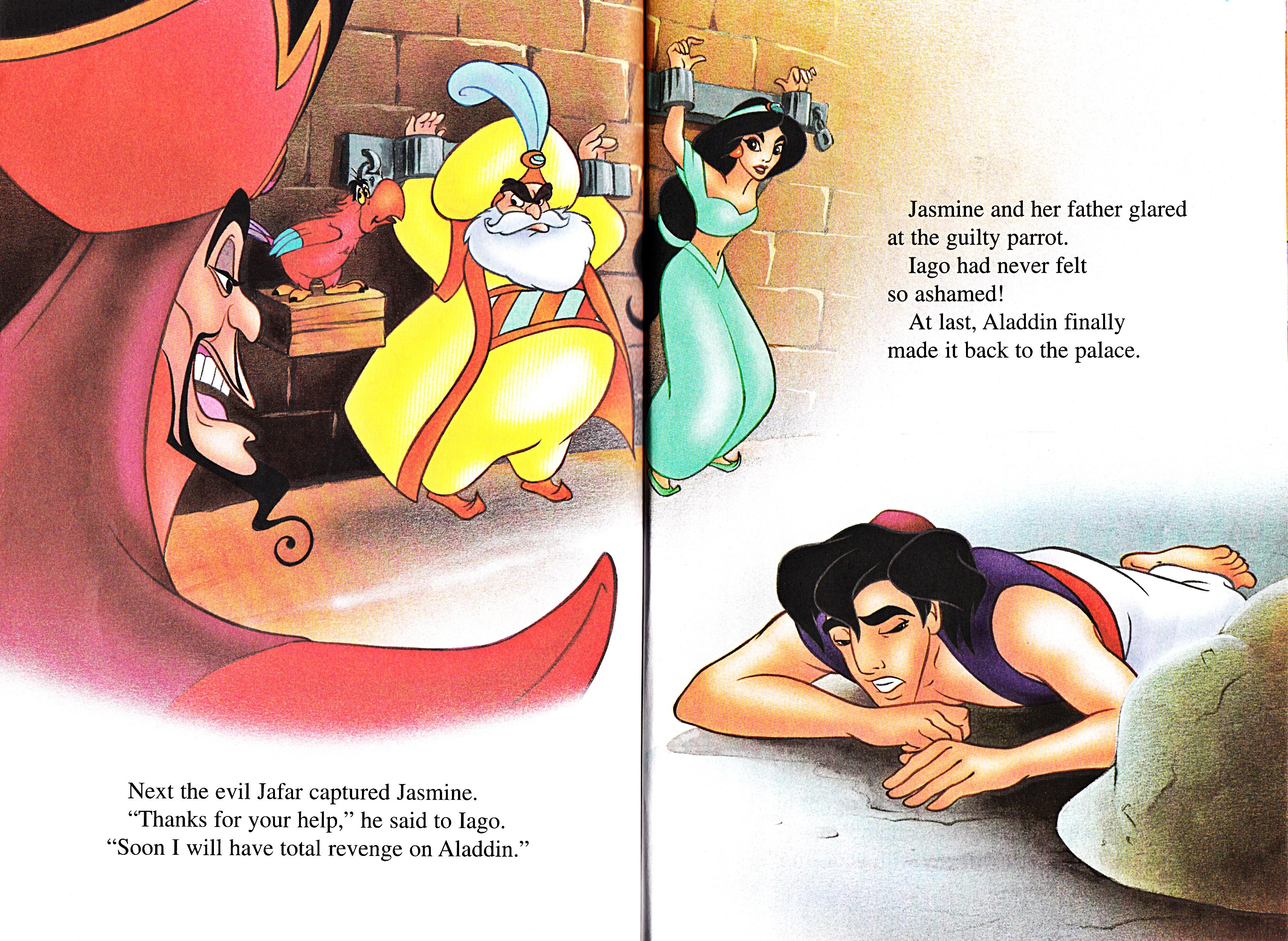 Walt Disney sách - Aladdin và cây đèn thần 2: The Return of Jafar