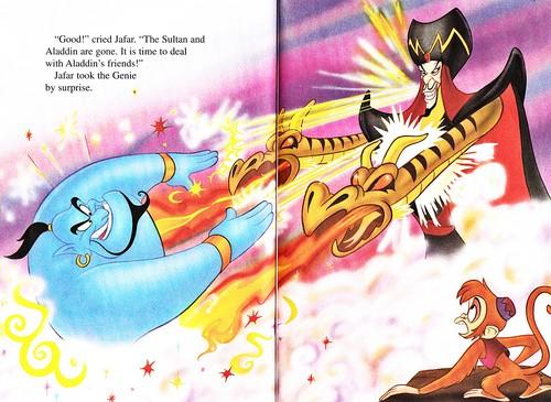 Герои Уолта Диснея Обои with Аниме titled Walt Дисней Книги - Аладдин 2: The Return of Jafar
