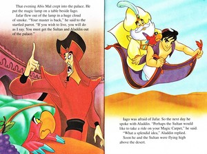 Walt Disney livres - Aladin 2: The Return of Jafar