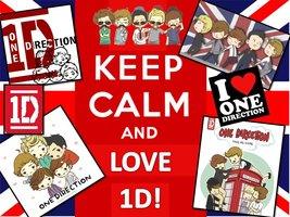 Keep Calm and Cinta 1D!