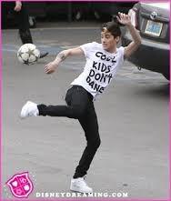 "Playing ""football"""