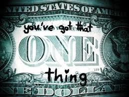 One thing <3
