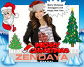Zendaya Saying Merry Christmes  - zendaya-coleman fan art